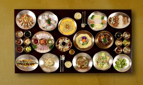 Try Korean Royal Court Cuisine!
