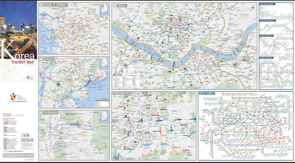 15. Korea tourist man(Area maps)