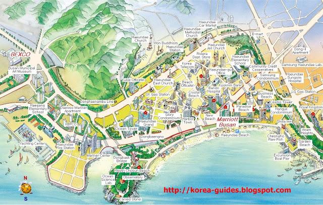 Haeundae Map 1