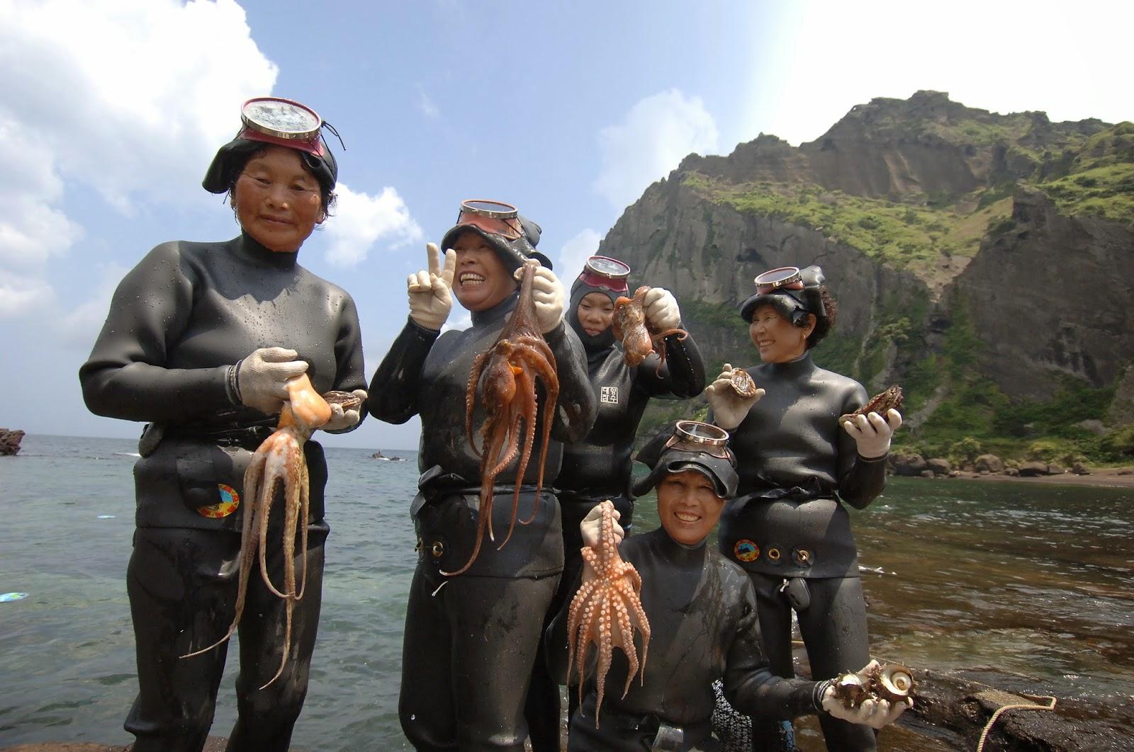 jeju island woman divers 4