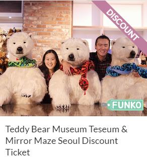 Teddy Bear Museum Teseum & Mirror Maze Seoul Discount Ticket Funtastic Korea