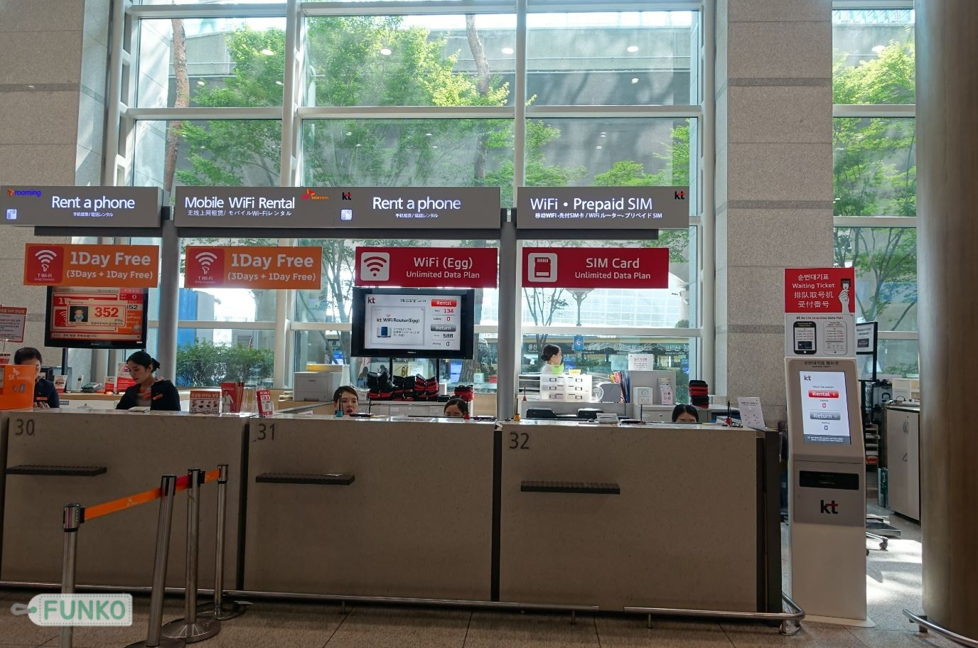 simcard incheon airport