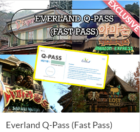 Everland Q-Pass (Fast Pass) Indiway