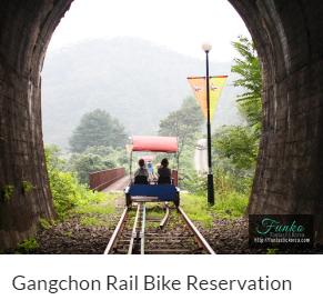 Gangchon Rail Bike Reservation Funtastic Korea