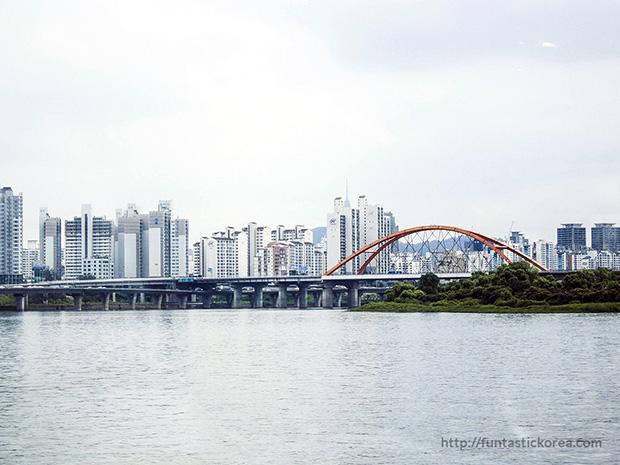 Han River Cruise_Bridges of Han River_Seogang Bridge