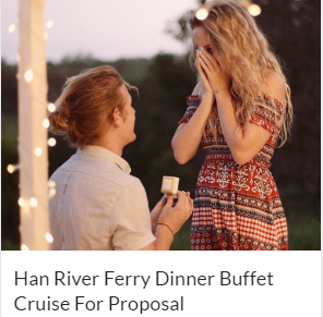 Han River Ferry Dinner Buffet Cruise For Proposal Indiway
