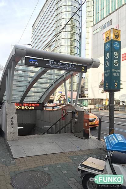myeongdong station-1