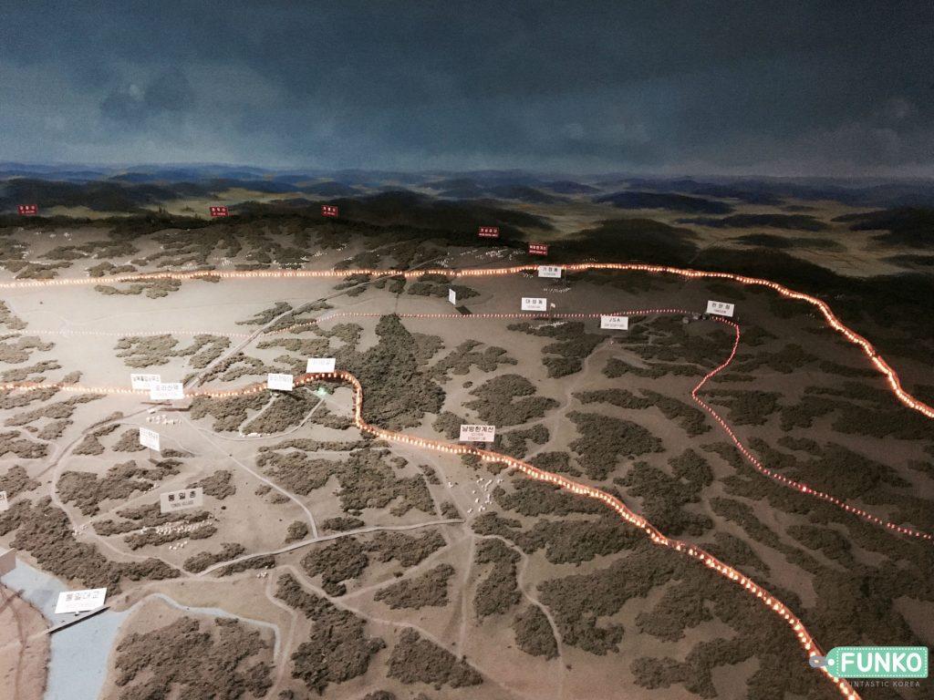 Indiway dmz jsa north korea tour map