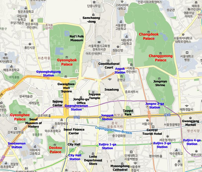 Seoul_Map_Palace