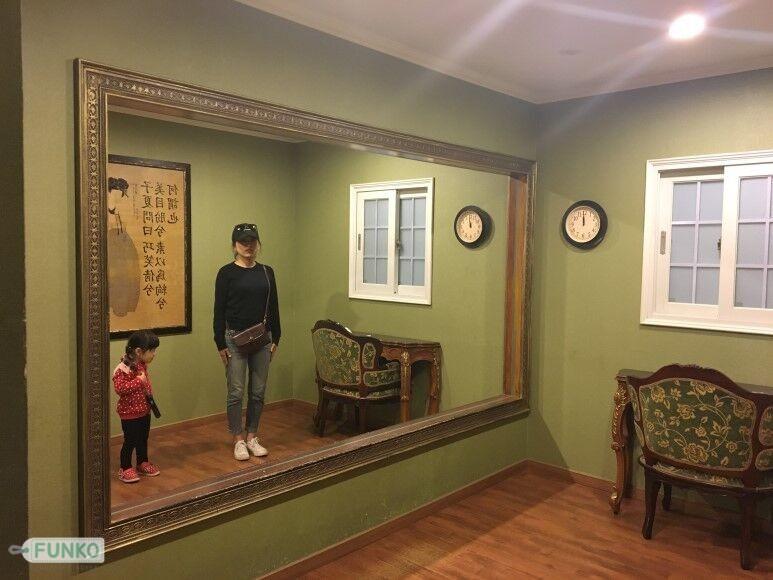 Opticla Illusion Mirror
