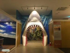 Shark Enterance