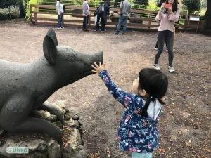 Black Pig Statue