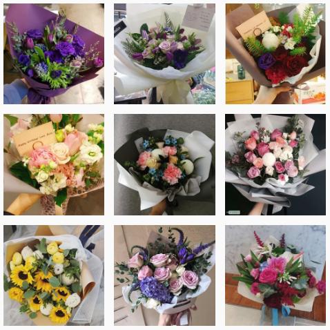 send flowers to korea online english