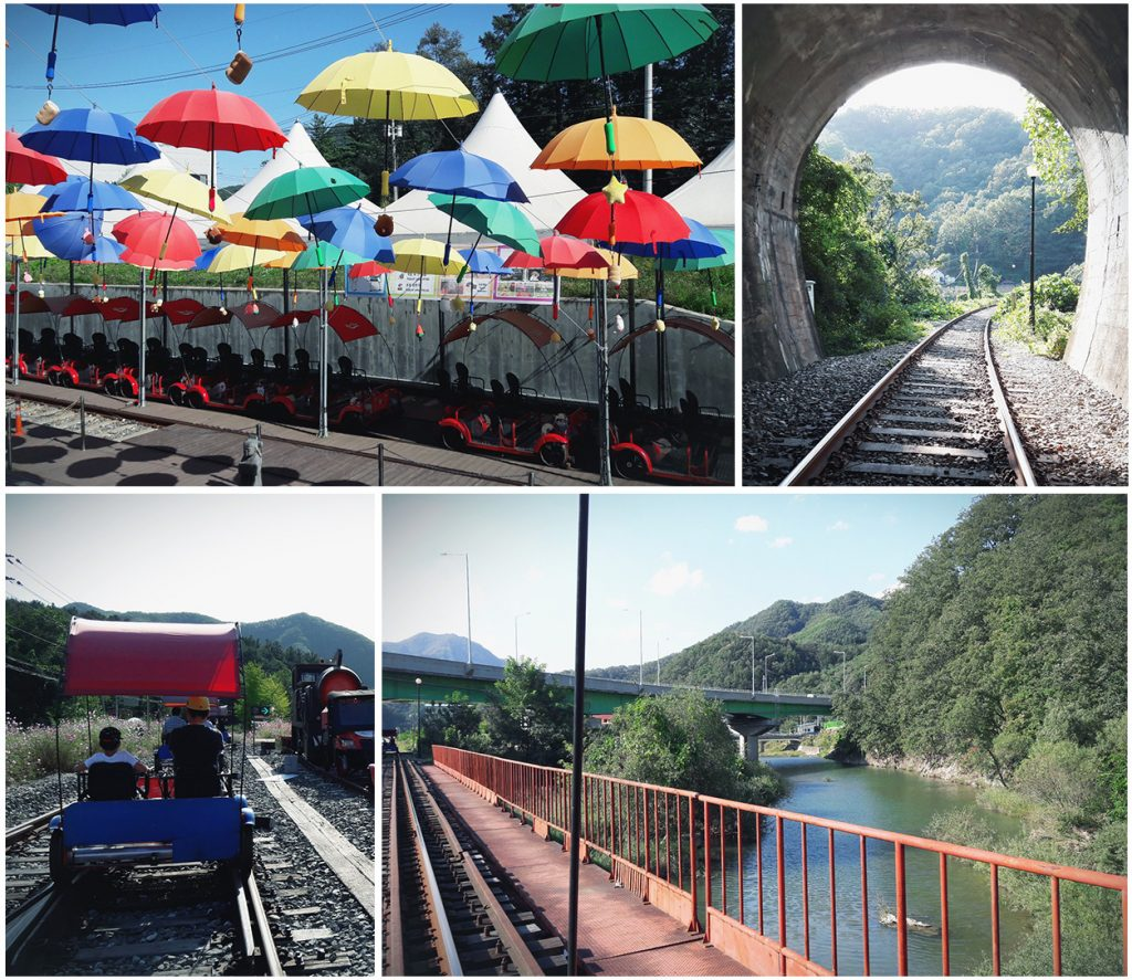 All About Gangchon Rail Bike (Gimyujeong Station)
