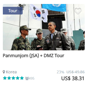 JSA DMZ Tour
