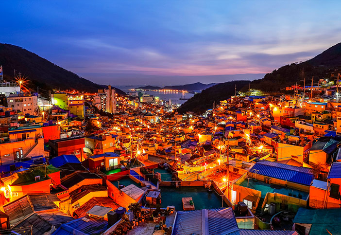 The Most Beautiful Sunset Attractions in Busan