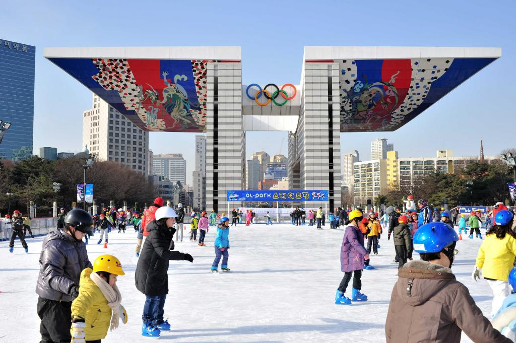 Where to Enjoy Sledding & Ice Skating in Seoul ?