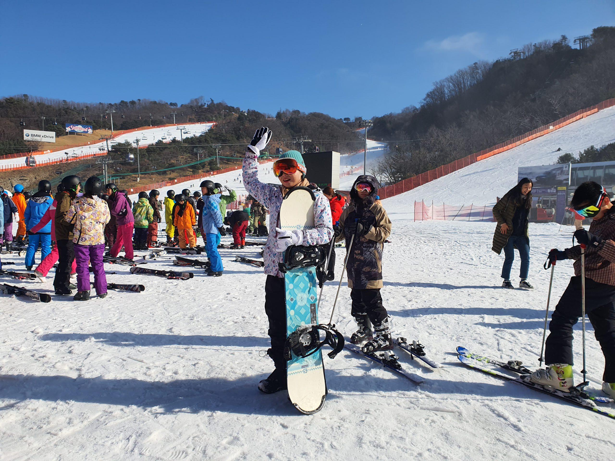 [Review] Snowboarding in Vivaldi Park Resort
